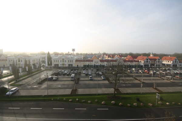 McArthurGlen Designer outlet build, Nuemunster